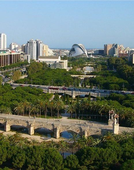 parque del rio turia